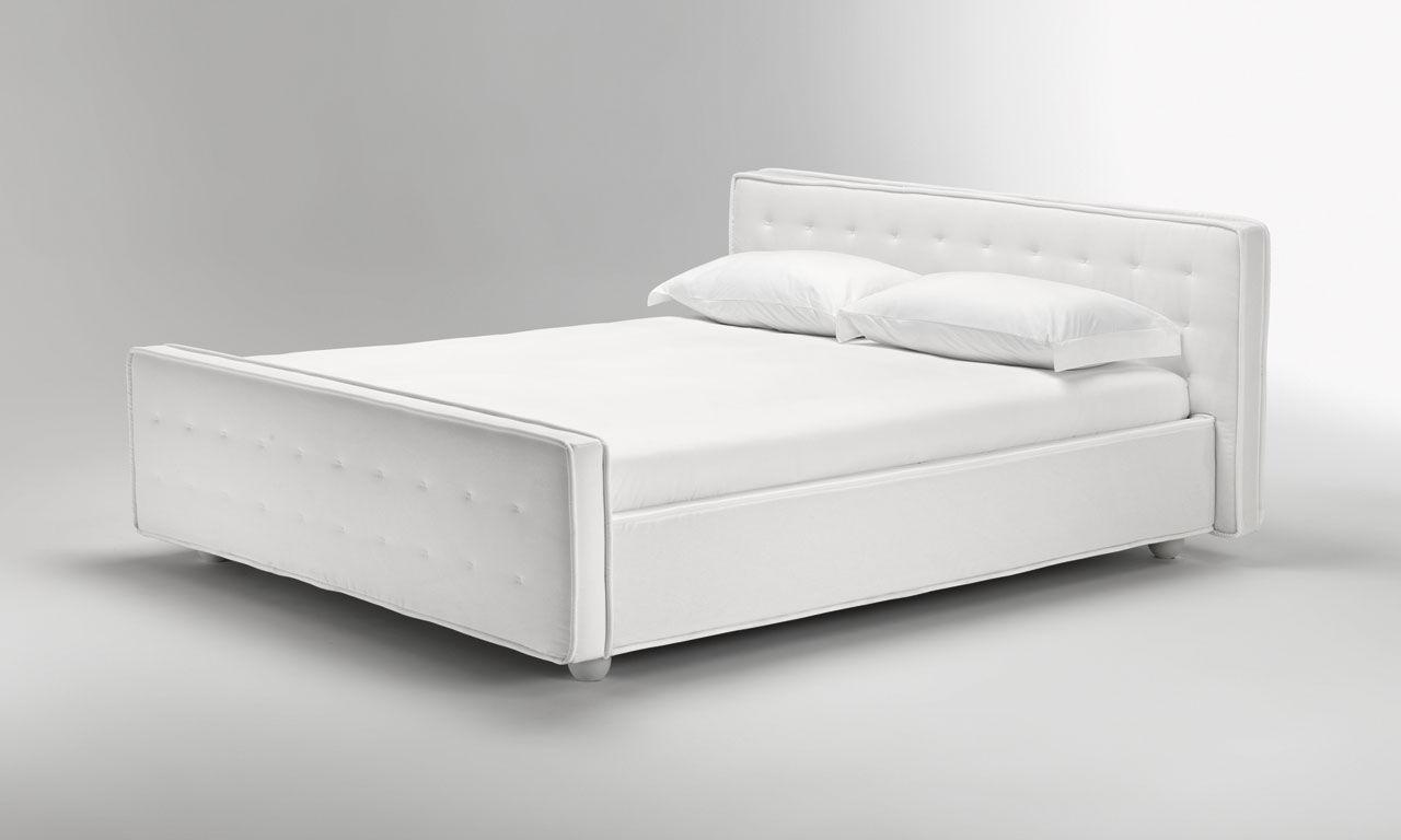 Einzelbett modern  Standardbett / Einzel / modern / Stoff - BLUESPIRIT - noctis