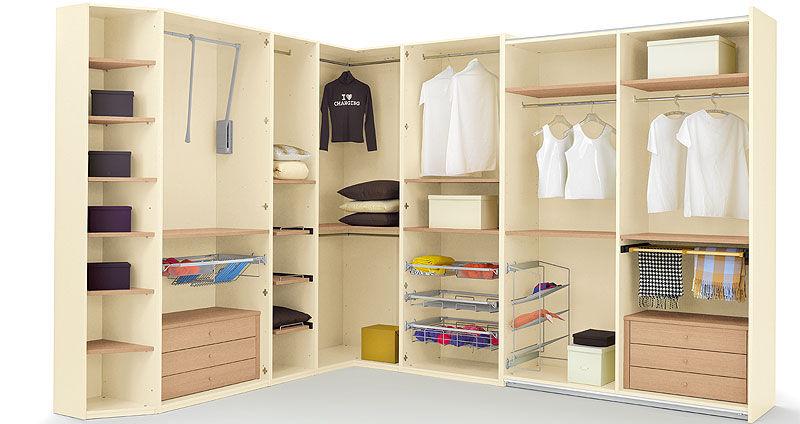 Moderner Begehbarer -Kleiderschrank / Holz - PLANET - Homes