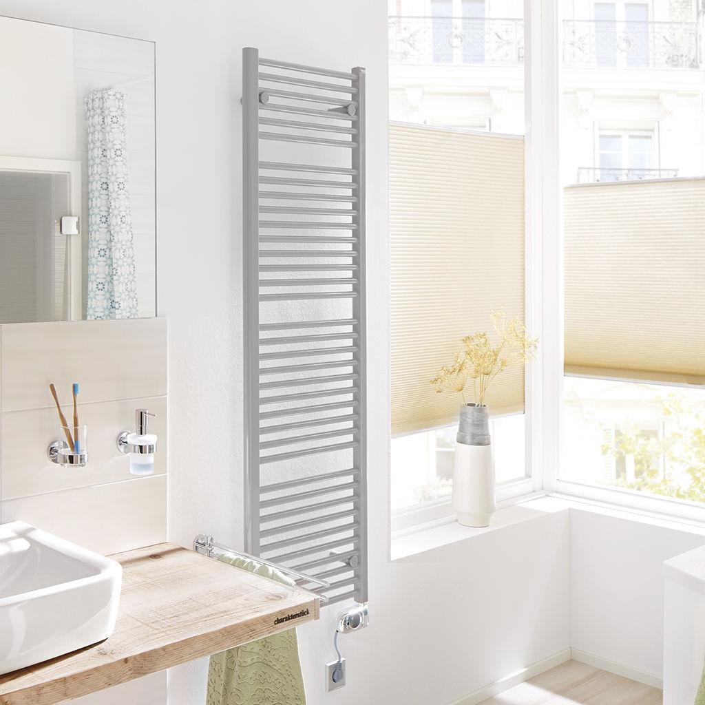 Elektrischer Badheizkörper / Stahl / Klassisch / Für Badezimmer