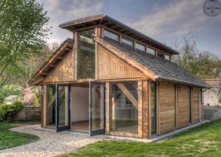 Fertighaus holz design  Fertigbauhaus / klassisch / MOB / aus Holz - OXON by Timber Design ...