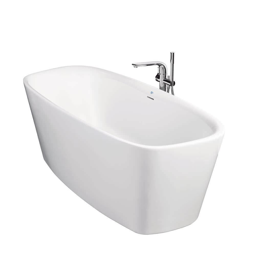Freistehende Badewanne Oval Keramik Dea By Dick Powell Ideal