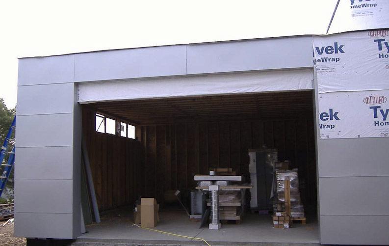 Garage modern holz  Fertigbau-Gebäude / für Garagen / Holz / modern - LVG - ROCIO ...