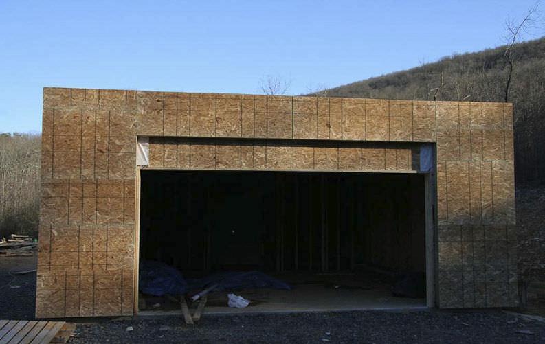 Garage modern holz  Fertigbau-Gebäude / Holz / für Garagen / modern - LVG - ROCIO ROMERO ...