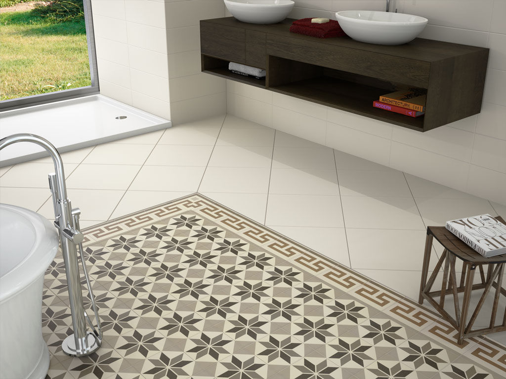 Fliesen für Badezimmer / Küchen / Boden / aus Keramik - HOME - APE ...