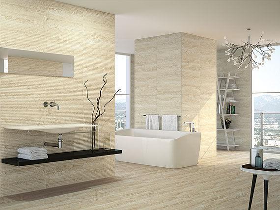 Fliesen Für Badezimmer / Für Böden / Keramik / Hochglanz   BRUXELLES