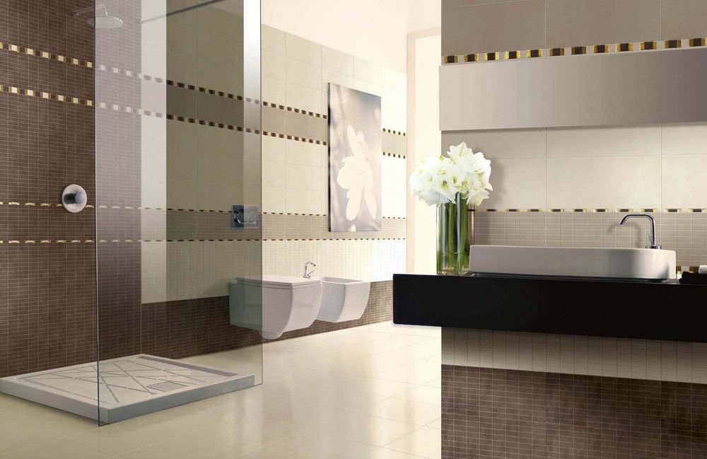 Badezimmer-Fliesen / Für Wände / Fußboden / Feinsteinzeug - Trend
