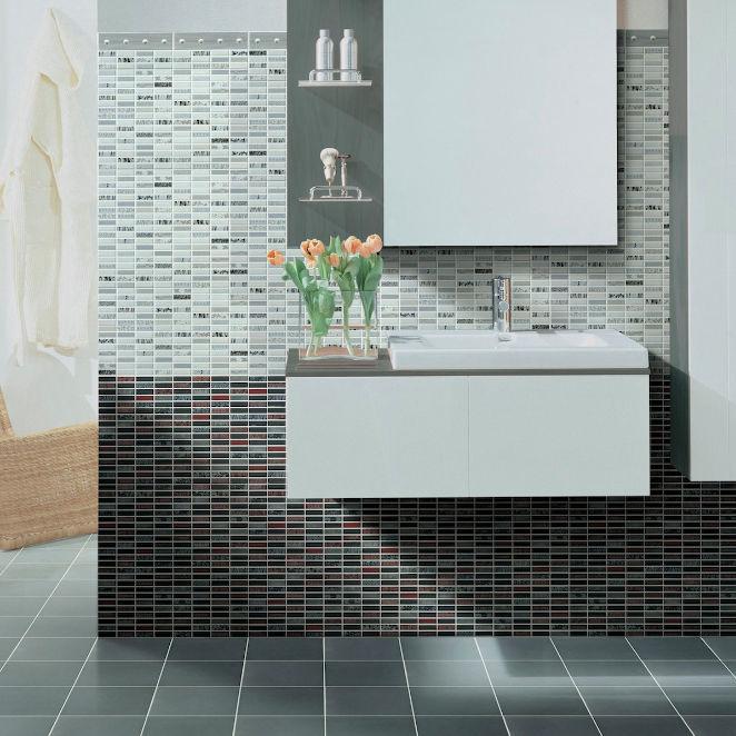 Best Fliesen Fr Badezimmer Fr Wnde Motiv Mondrian With Motive Fr Badezimmer  With Badezimmer Fr