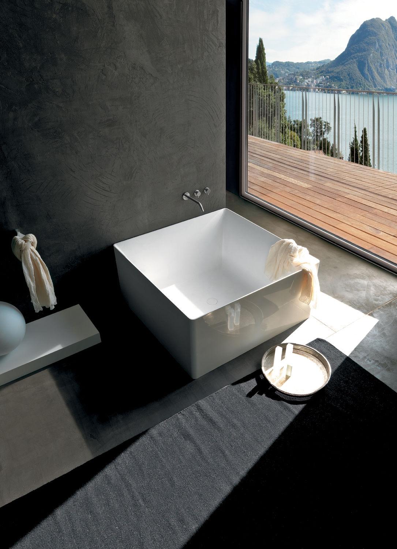 Quadratische Badewanne quadratische badewanne aus acryl dual colacril