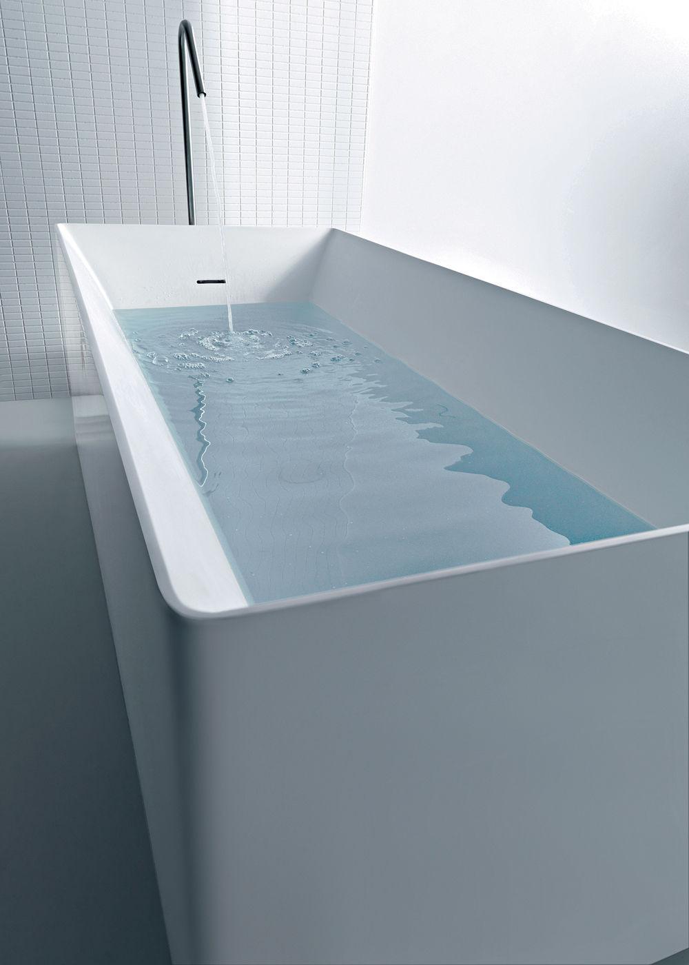Acryl badewanne  Freistehende Badewanne / aus Acryl - DUAL - COLACRIL