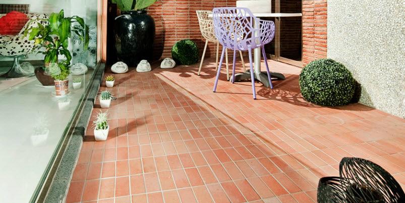 AußenbereichFliesen Für Poolrand Für Böden Aus Terrakotta - Cotto fliesen aussen