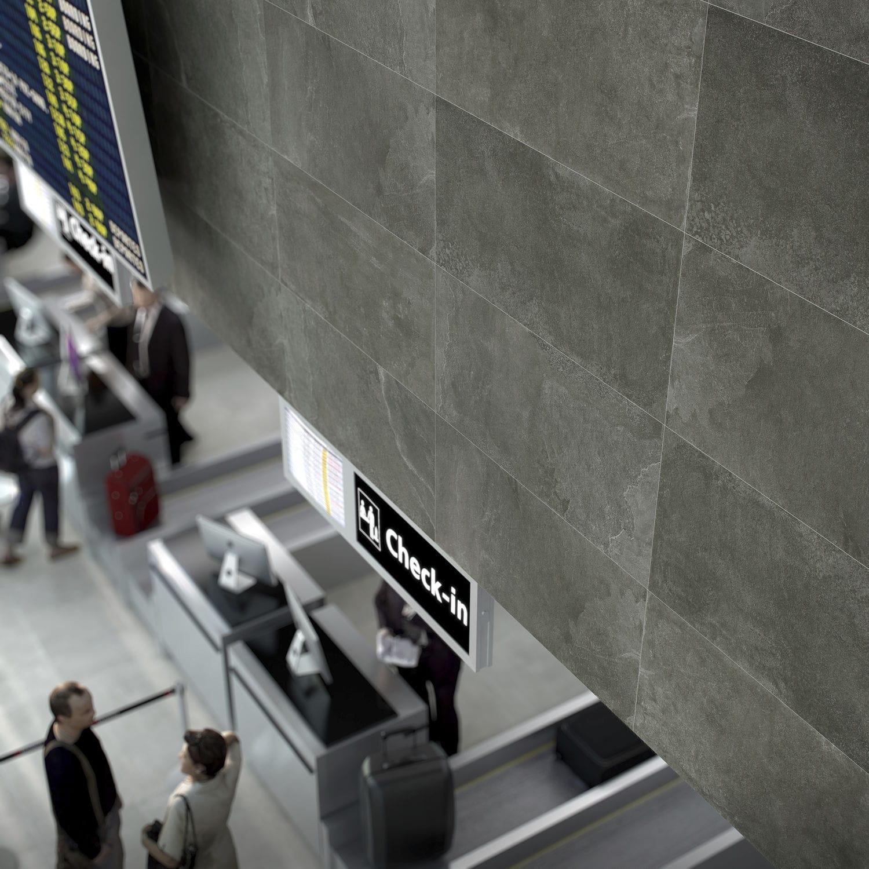 Innenraum-Fliesen / Wand / Boden / Keramik - UNIKA - DOMINO