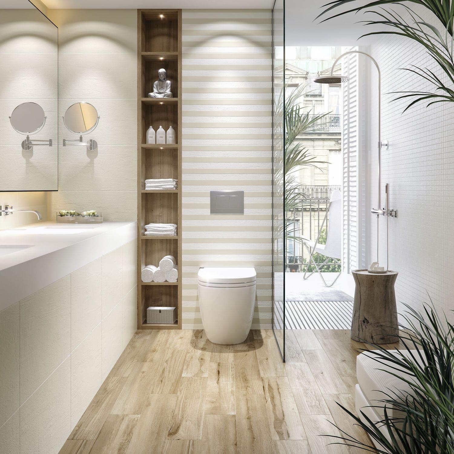 Fliesen für Badezimmer / Küchen / Wand / Feinsteinzeug - MUNDI - DOMINO