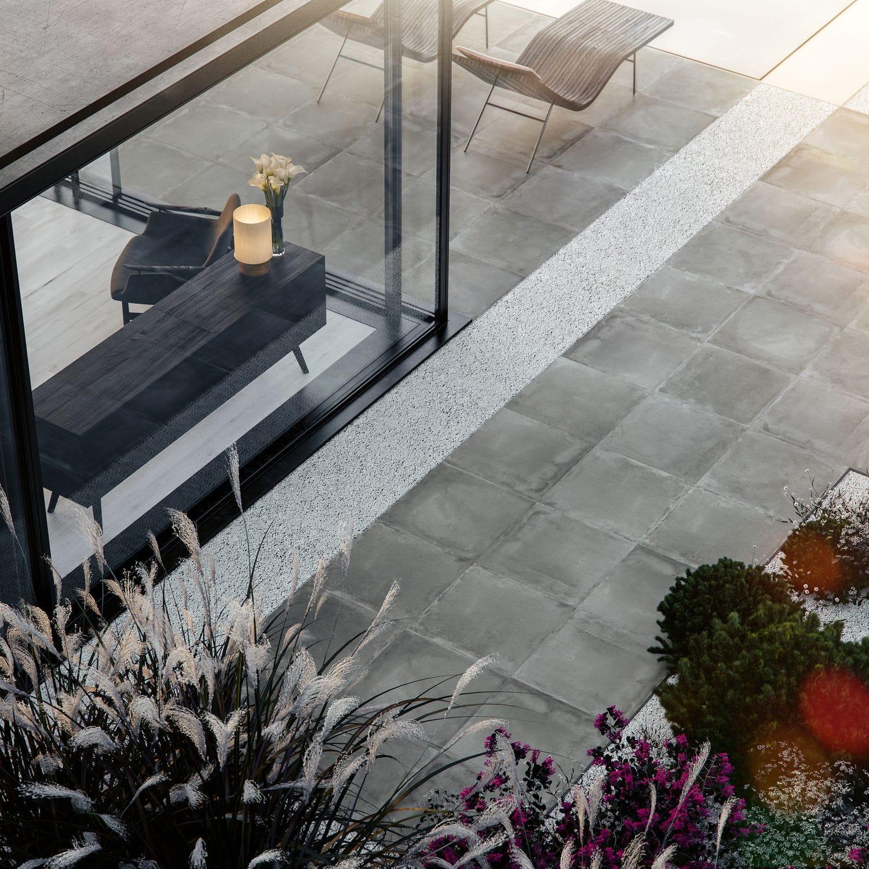 Wohnzimmer-Fliesen / Außenbereich / für Böden / Feinsteinzeug ...