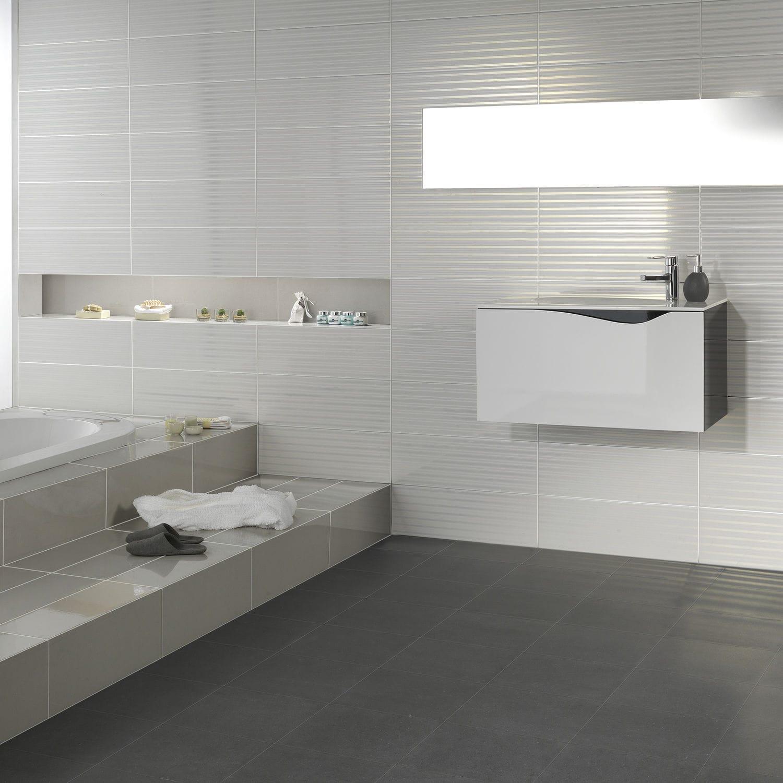 Badezimmer-Fliesen / Wand / Keramik / rechteckig - HARD ROCK - DOMINO