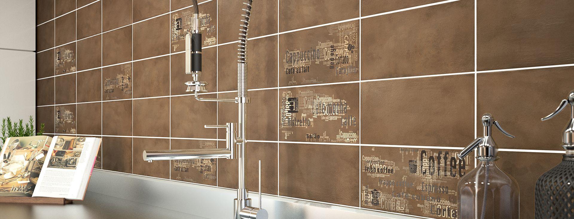 Küchenfliesen / für Wände / Keramik / Motiv - ARETHA - GRANISER CERAMICS