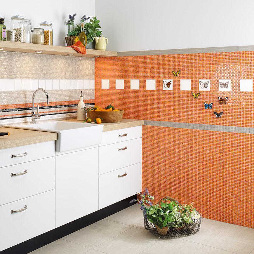Mosaikfliese für Badezimmer / Küchen / Wohnzimmer / Wand - ATELIER ...