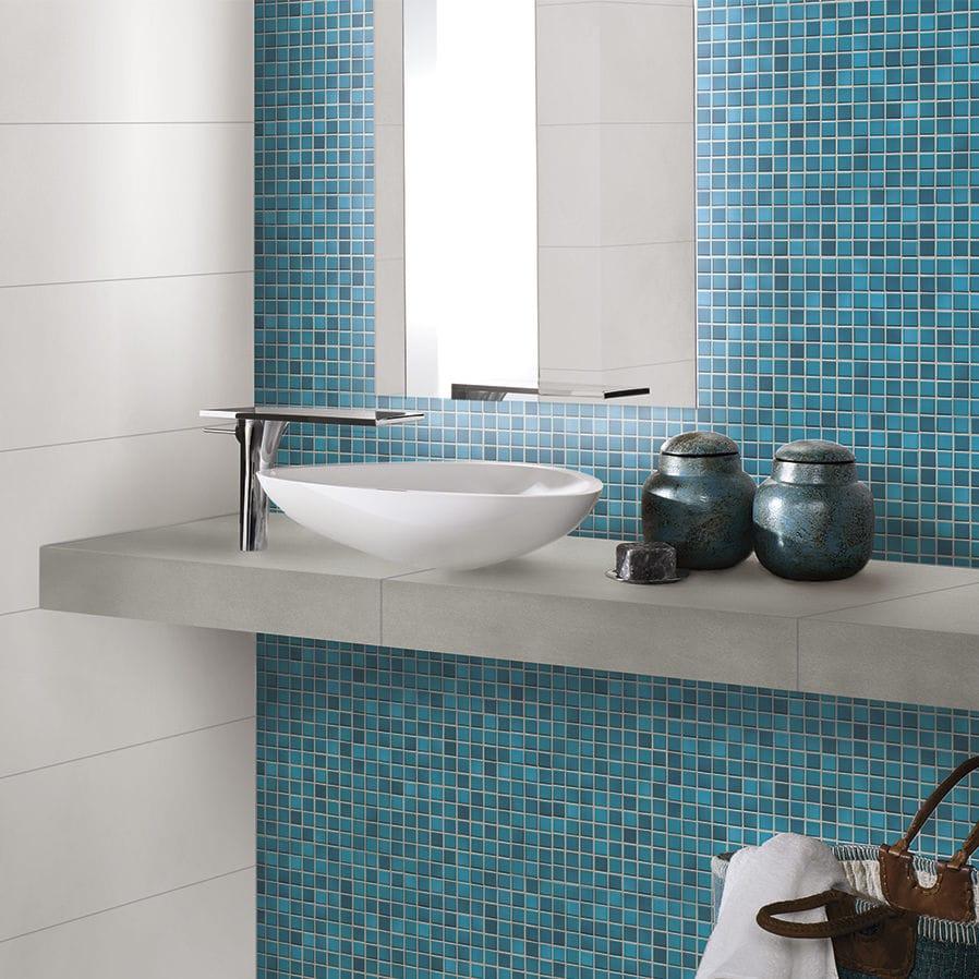 Mosaikfliese Für Badezimmer / Für Wände / Für Böden / Feinsteinzeug   FRESH  : PACIFIC BLUE MIX