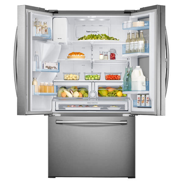 Kühlschrank Amerikanisch amerikanisch kühlschrank edelstahl rf28hdedbsr aa samsung home