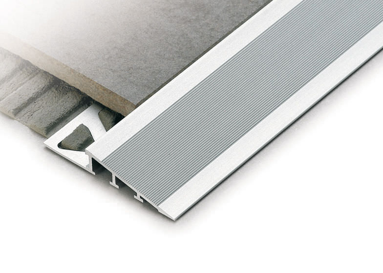 Aluminium Abschlussprofil Fur Fliesen Ramptec Zrr Profilitec