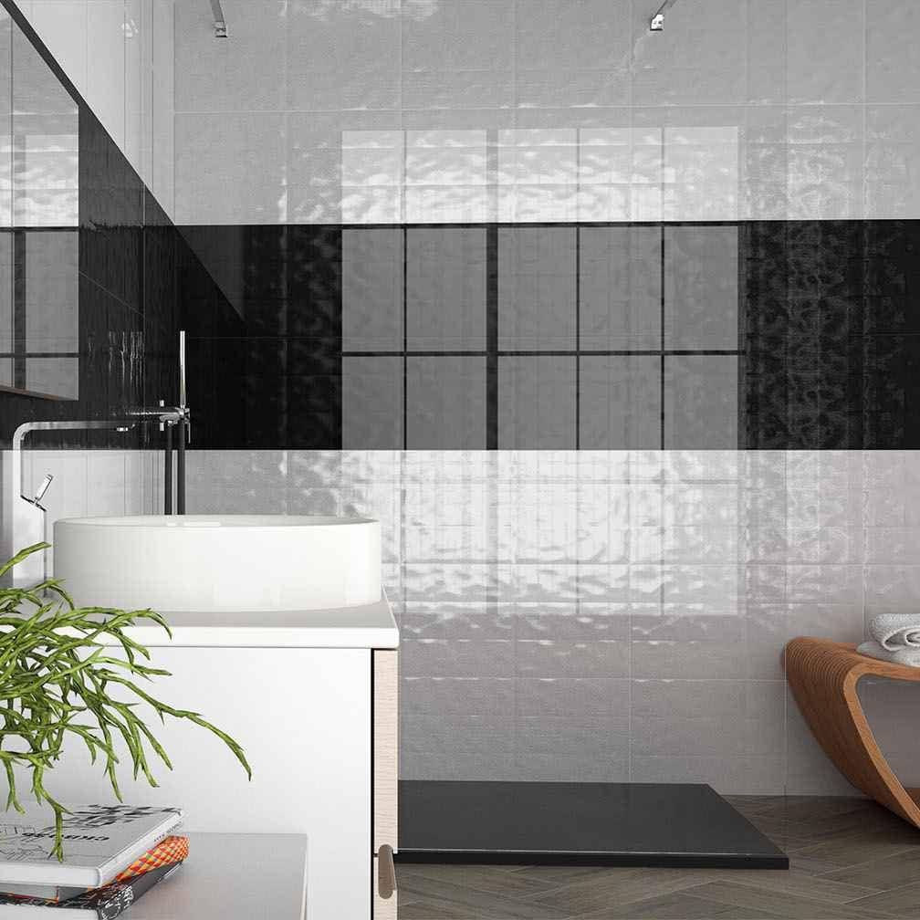 Fliesen für Badezimmer / Wand / Feinsteinzeug / 30x60 cm - COVERKER ...