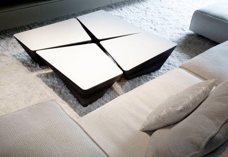 Moderner Couchtisch / Holz / Quadratisch / Innenbereich STONE By Kees  Marcelis Odesi. Dutch Design ...