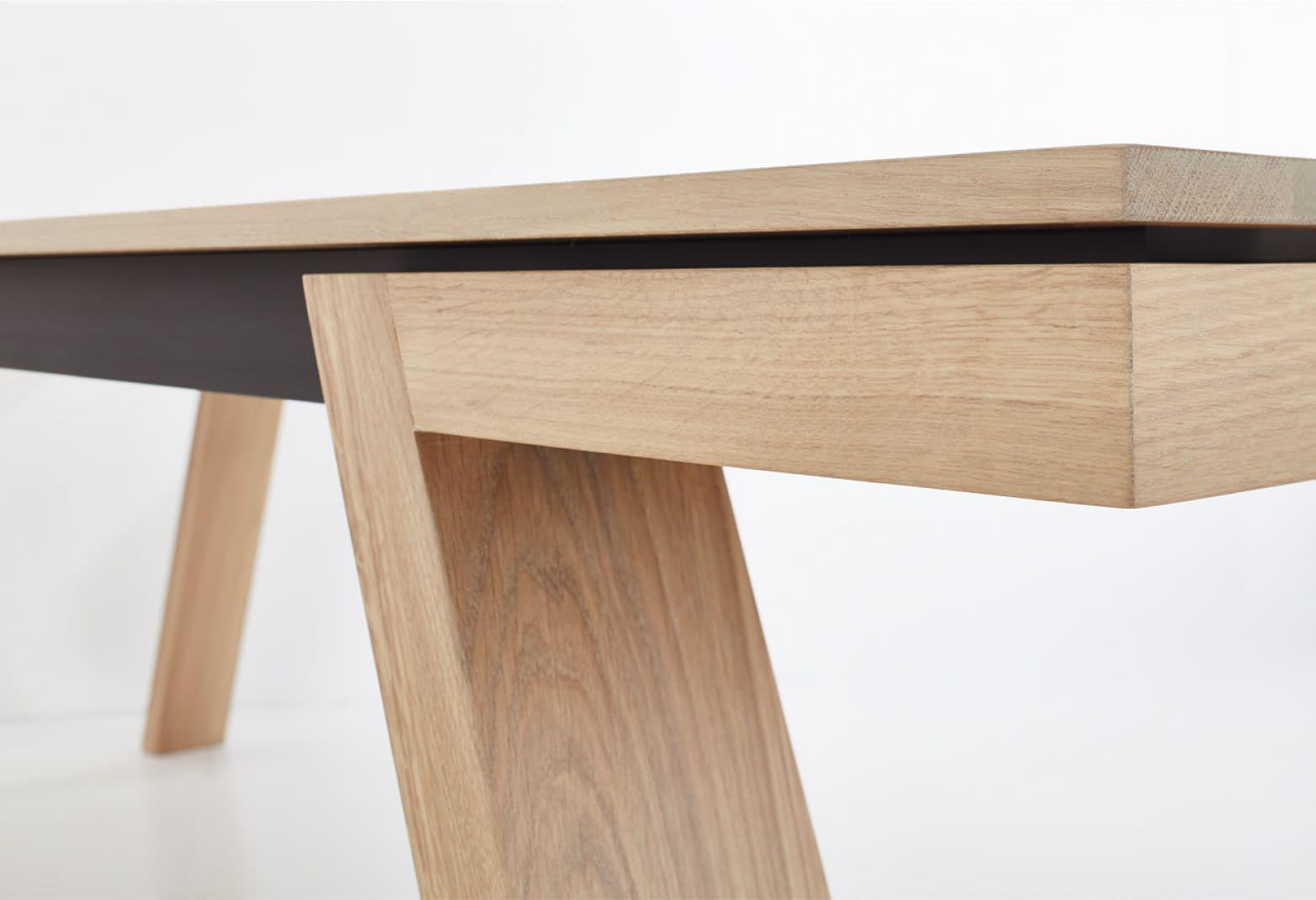 Esstisch modern design  Moderner Esstisch / Holz / rechteckig - SPRING by Kees Marcelis ...