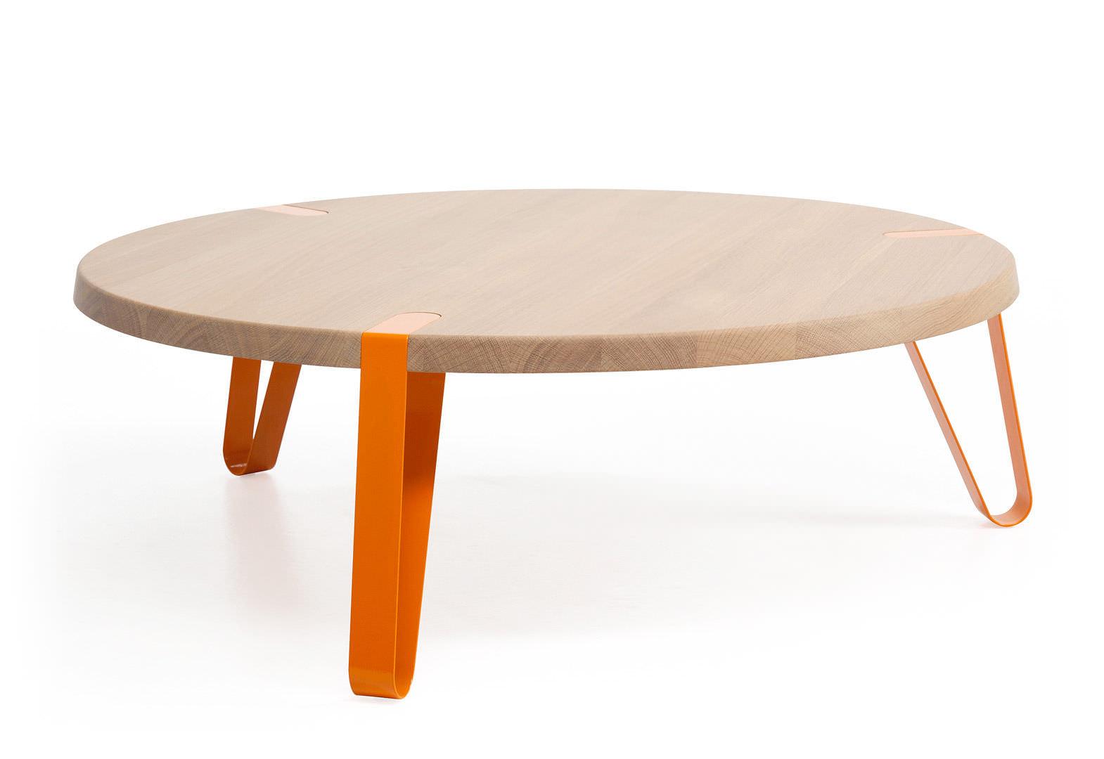 Couchtisch / modern / Holz / rund - LEVEL by Erik Remmers - Odesi ...