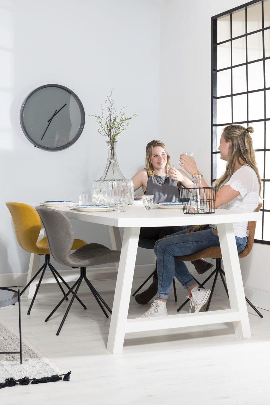 Moderner Bürostuhl / Polster / mit Rollen / sternförmiger Fuß - OMG ...