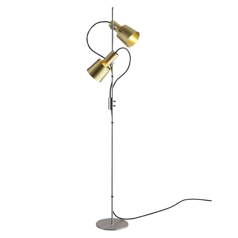 Innenarchitektur Stehlampe Kupfer Referenz Von Stehleuchte / Modern / / Edelstahl -