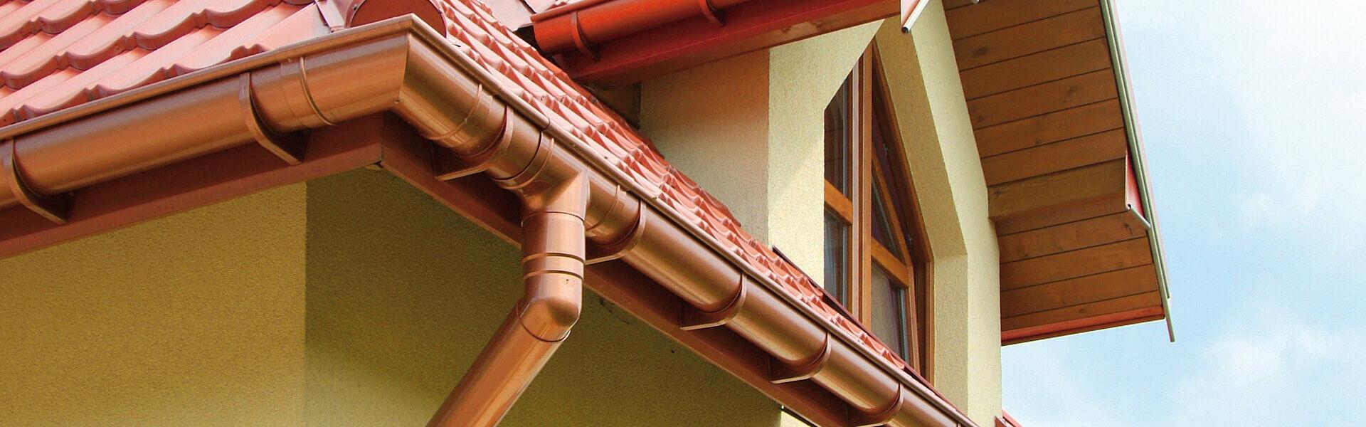 halbrunde regenrinne / kupfer - prime 125 - devorex plc