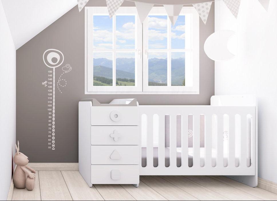 Mitwachsendes Bett / einfach / modern / mit Stauraum K350-2300 ALONDRA