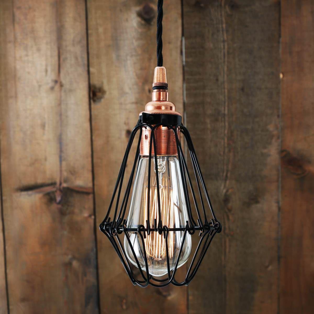 Hängelampe / klassisch / Stahl / Kupfer - JUBA: MLP385 - Mullan Lighting