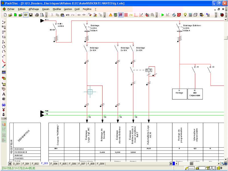 Projektplanungssoftware / für Elektroinstallation - AUTO\'FIL - Algo Tech