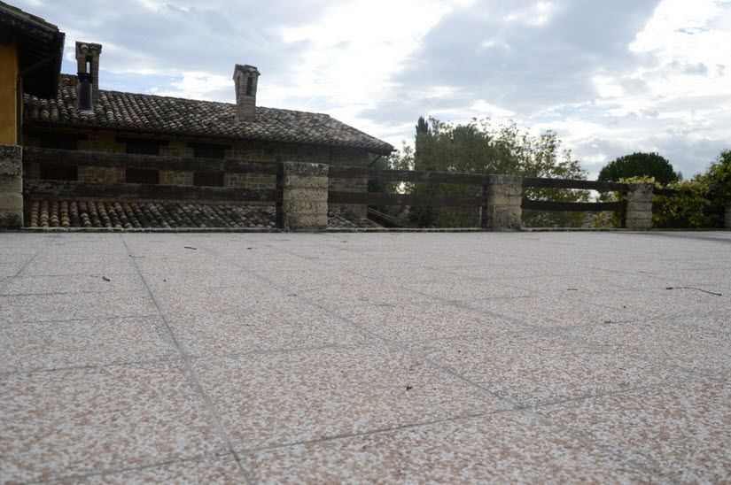 Außenbereich Fliesen / Für Böden / Aus Zement / Mit Geometrischem Muster ...