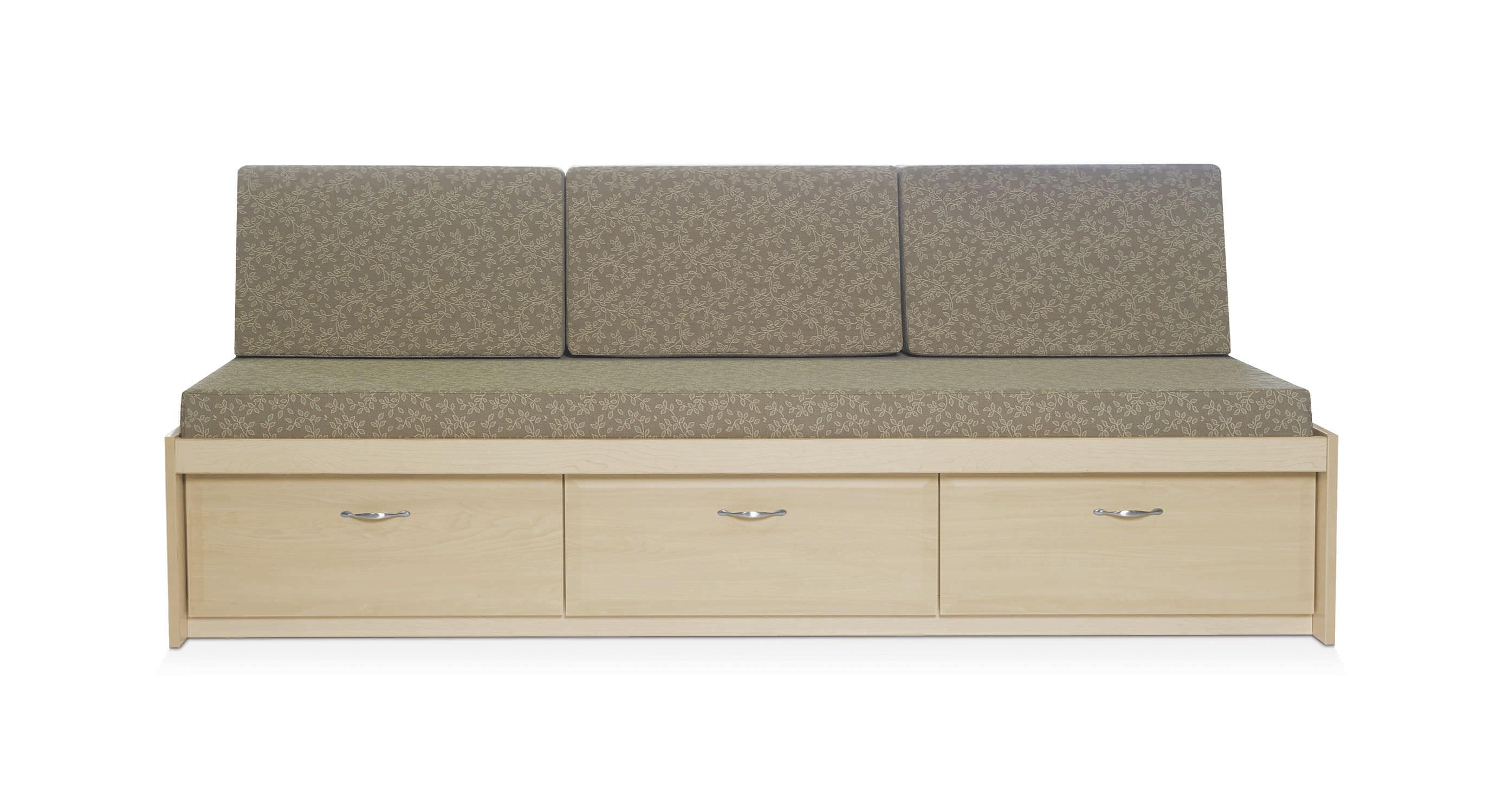 Modernes Sofa / Vinyl / Für Gesundheitseinrichtungen / 3 Plätze   DAY BED