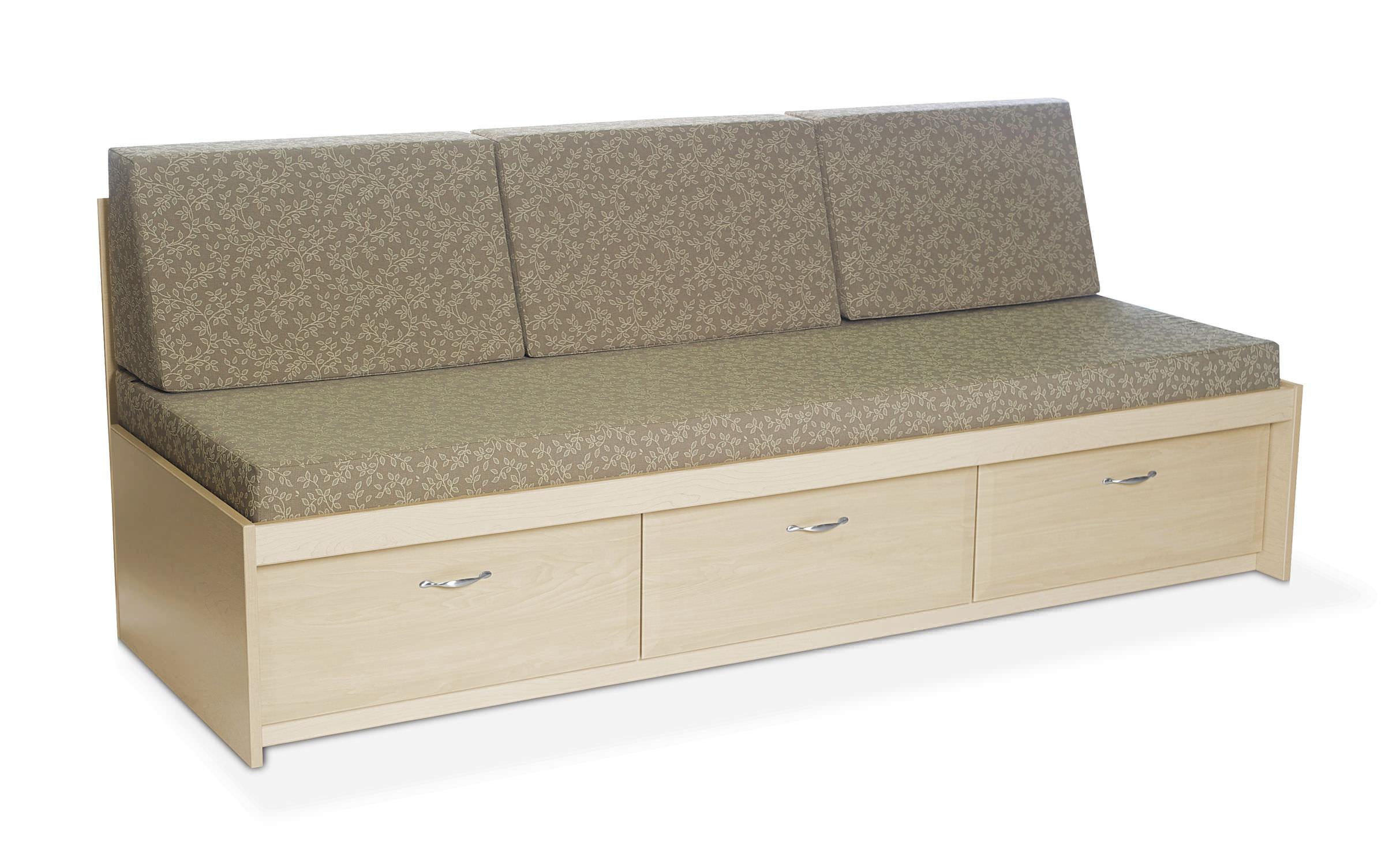 Modernes Sofa / Vinyl / Für Gesundheitseinrichtungen / 3 Plätze ...