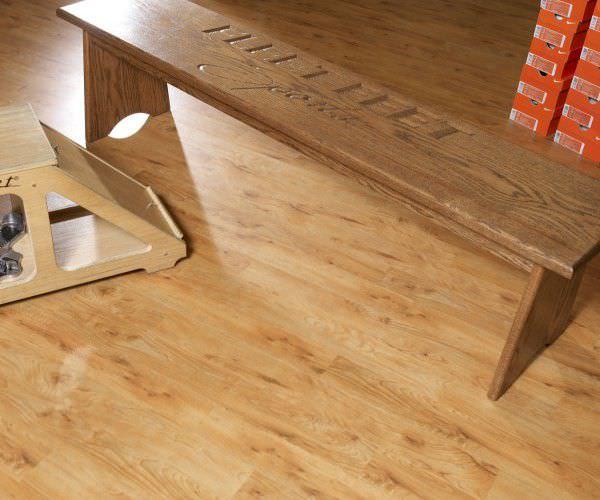 Fußbodenbelag Vinyl ~ Vinyl bodenbelag glatt holzoptik antibakteriell natural