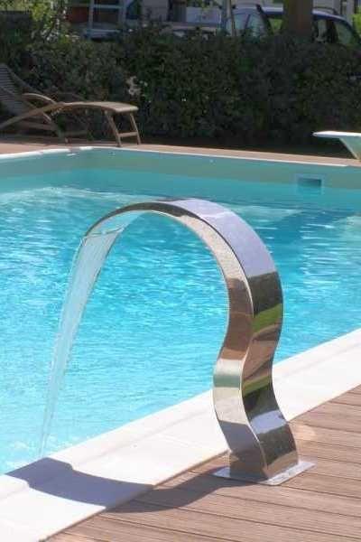 Fesselnd Wasserfall Für Pool ARMONIA Inoxstyle