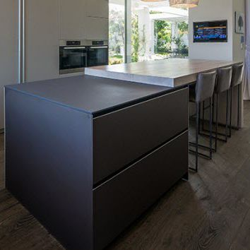 Moderne Kücheninsel moderne kücheninsel lithos lapitec