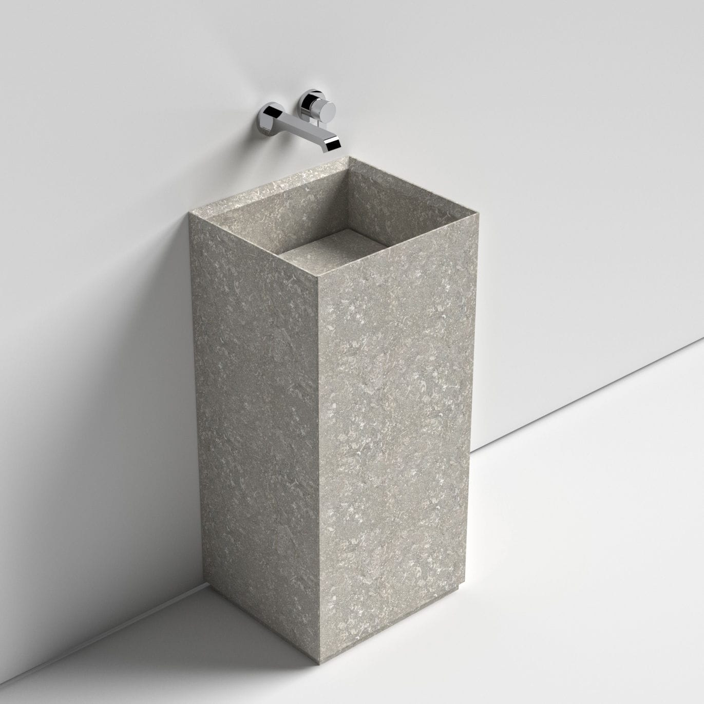 Waschbecken freistehend naturstein  Freistehend-Waschbecken / rechteckig / aus Naturstein / modern ...