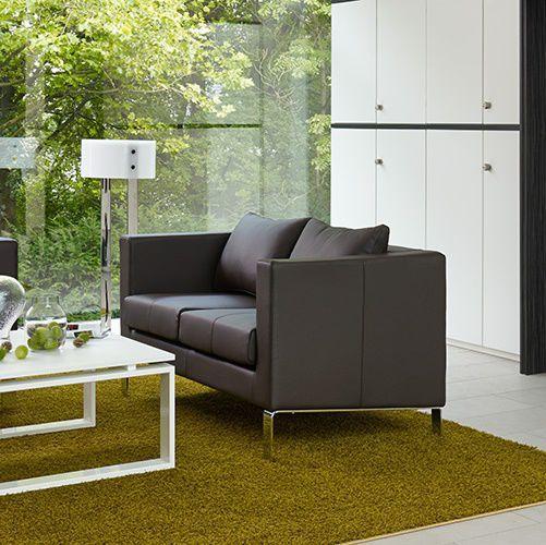 Modernes Sofa Leder Fur Buro 2 Platze Torbole Febru