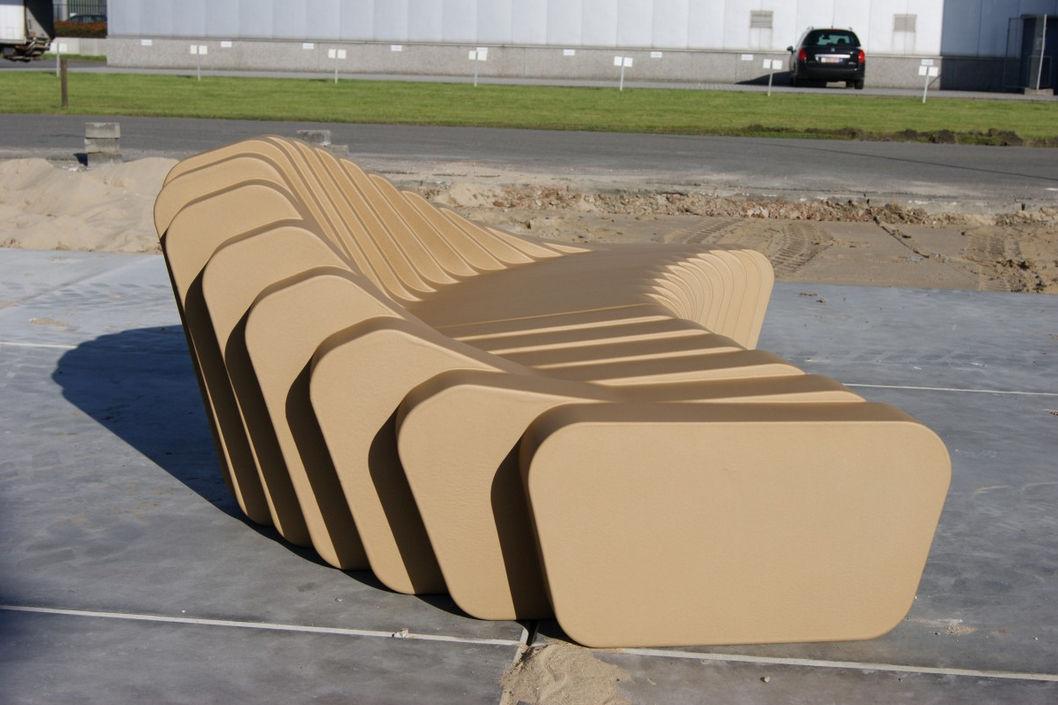 Bank Für Den Garten Originelles Design Schaumstoff CLIFFY 48 Inspiration Design 2000 Furniture