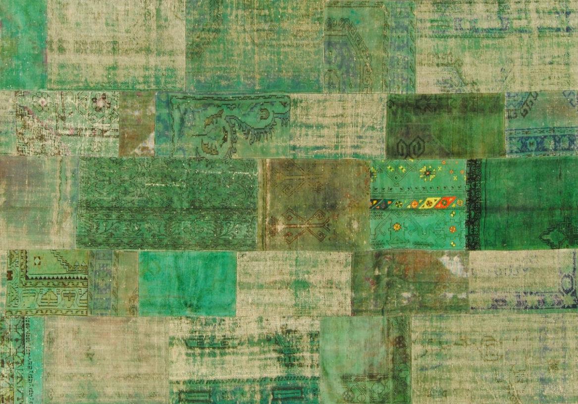 Perserteppich patchwork  Moderner Teppich / Patchwork / Wolle / rechteckig - PATCHWORK ...