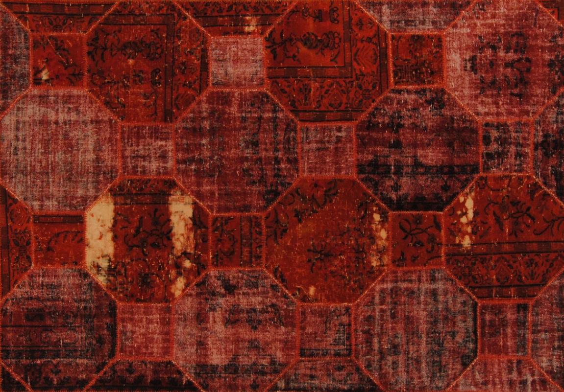 Perserteppich patchwork  Moderne Teppich / Patchwork / Wolle / rechteckig - PATCHWORK ...