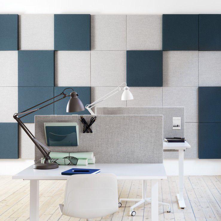 Bürotrennwand Für Theken / Stoff / Aluminium / Schallisoliert   SONEO