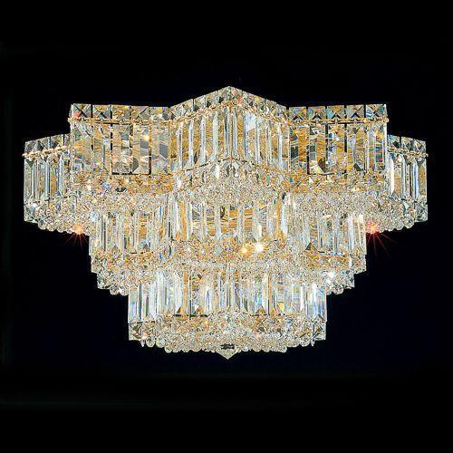 Deckenleuchten wohnzimmer klassisch  Klassische Deckenleuchte / mit Swarovski® Kristall / Glühlampen ...
