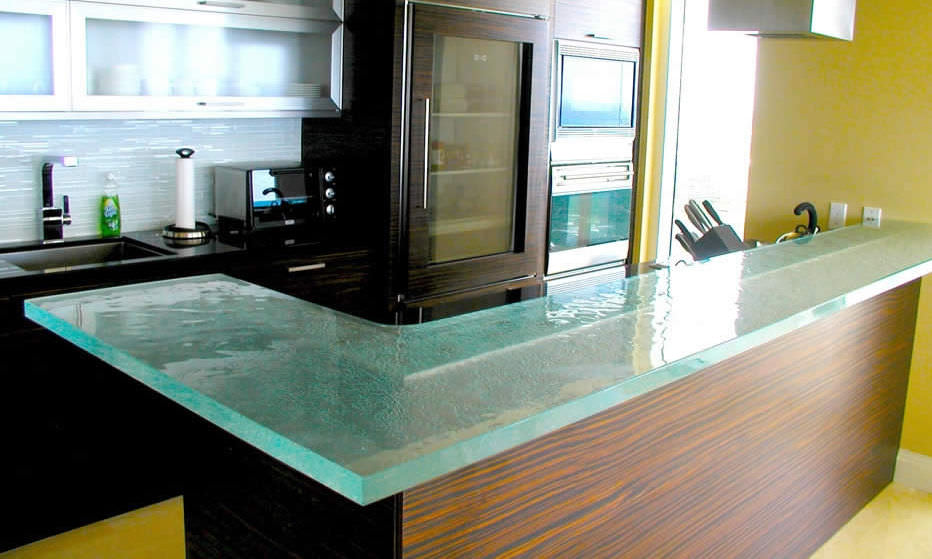 Glas arbeitsplatte küche  Glasarbeitsplatte / Küchen - SENSIBLE CHIC - ThinkGlass