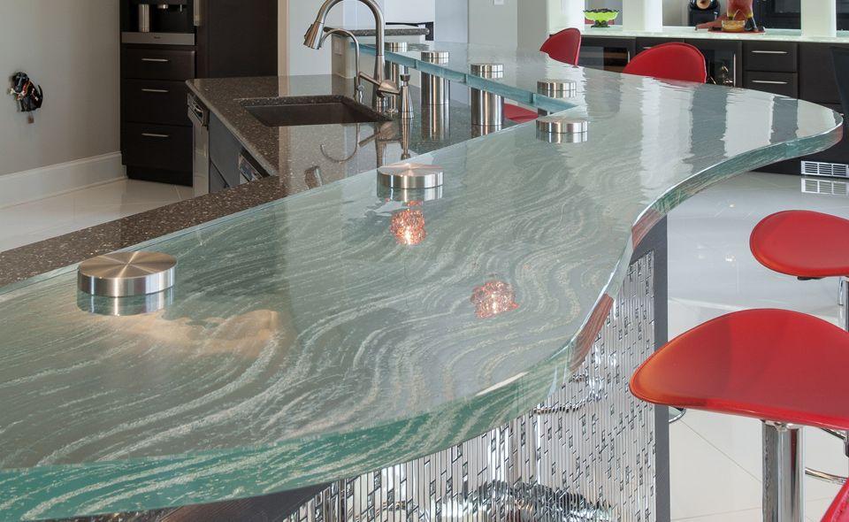 Küchentheke küchentheke glas halbrund raised bar thinkglass
