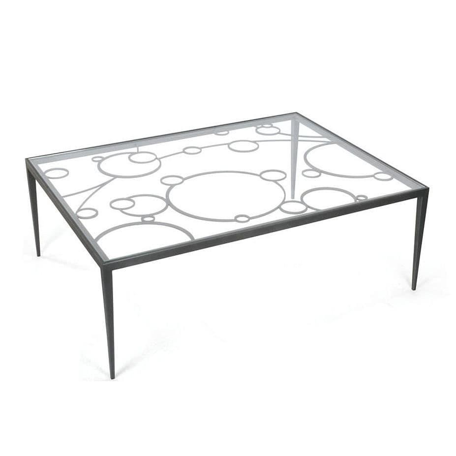 Genial Couchtisch Metall Glas Referenz Von Moderner / / / Rechteckig - Neptune