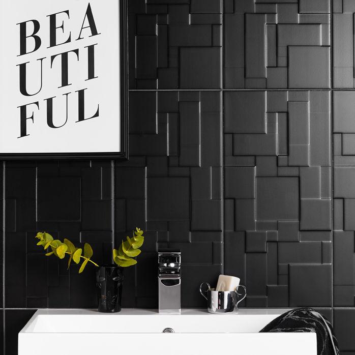 Fliesen Für Badezimmer Wand Keramik Uni FUNCTION FORM - Patchwork fliesen bad